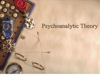 Psychoanalytic Theory