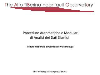 Taboo  Workshop Ancona Aprile 23-24-2013