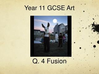 Year 11 GCSE Art