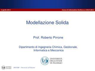 Modellazione Solida