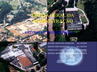 TEORIA GERAL DA ADMINISTRA  O