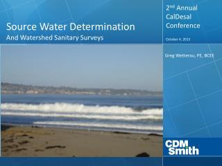 Source Water Determination