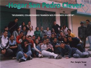 -Hogar San Pedro Clever-
