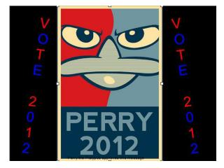 Even though no one ever knows where perry is, he has been there serving justice in America.