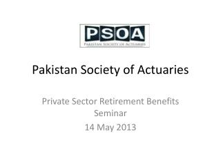 Pakistan Society of Actuaries