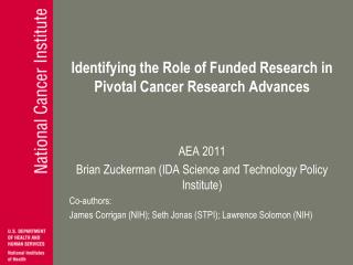 Identifying the Role of Funded Research in Pivotal Cancer Research Advances