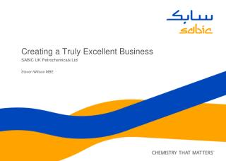 Creating a Truly Excellent Business