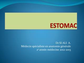 ESTOMAC