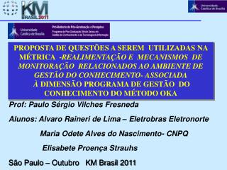 Prof :  Paulo Sérgio  Vilches Fresneda