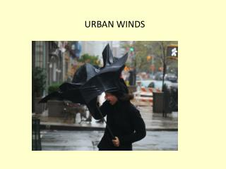 URBAN WINDS