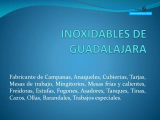 INOXIDABLES DE GUADALAJARA