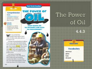 The Power  of Oil