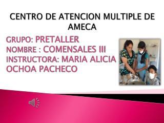CENTRO DE ATENCION MULTIPLE DE AMECA