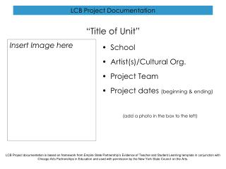 LCB Project Documentation