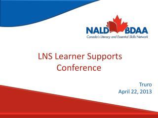 LNS Learner Supports Conference
