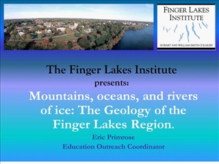 The Finger Lakes Institute presents: