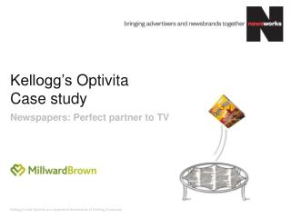 Kellogg's  Optivita Case study
