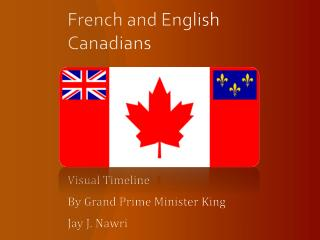 French and English Canadians