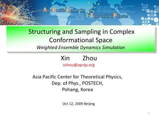 Xin Zhou xzhou@apctp.org