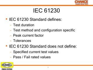 IEC 61230
