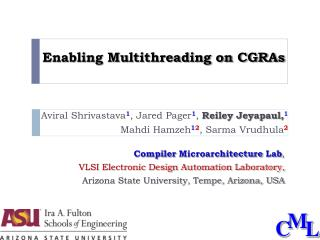 Enabling Multithreading on CGRAs