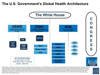 The U.S. Government's Global Health Architecture
