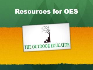Resources for OES