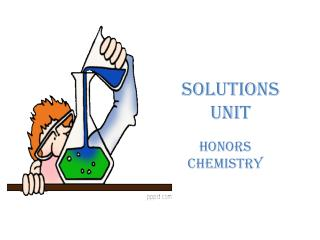 Solutions Unit