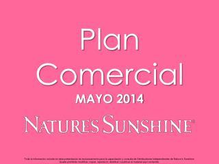 Plan Comercial MAYO 2014