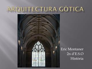 Arquitectura  gòtica