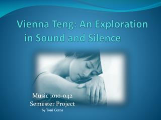 Vienna Teng: An Exploration in Sound and Silence