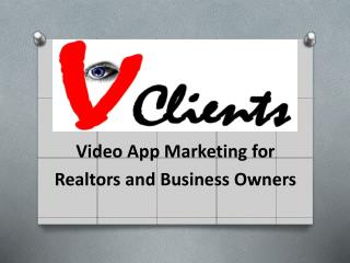 V Clients Video Apps Service