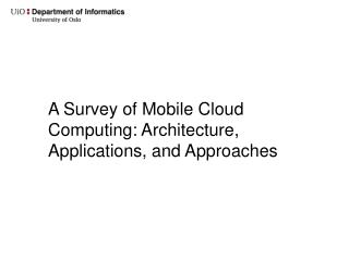 A Survey of Mobile Cloud Computing: Architecture, Applications, and Approaches