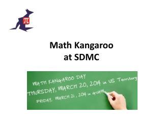 Math Kangaroo at SDMC