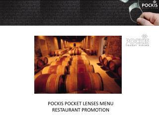 Pockis Box Menu promotion
