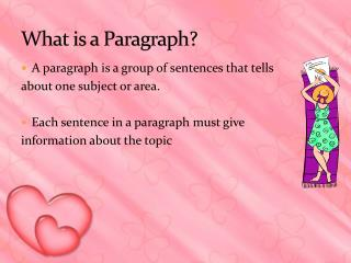 What is a Paragraph?