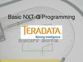 Basic NXT-G Programming