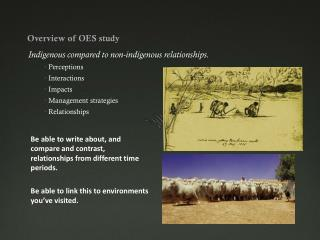 Overview of OES study