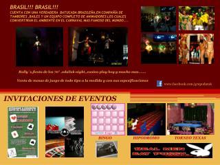INVITACIONES DE EVENTOS