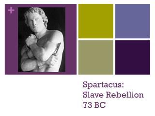 Spartacus:  Slave Rebellion  73 BC