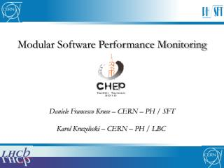 Modular Software Performance Monitoring