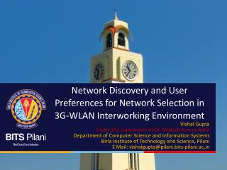 Network Discovery and User  Preferences for Network Selection in 3G-WLAN Interworking Environment