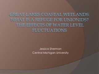 J essica Sherman Central Michigan University