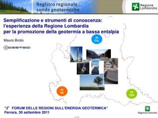 Semplificazione e strumenti di conoscenza:  l'esperienza della Regione Lombardia