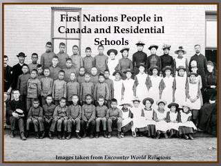 First Nations People in Canada and Residential Schools