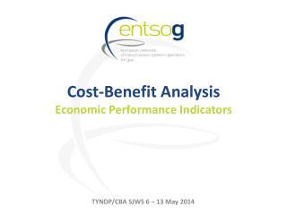 Cost-Benefit Analysis Econo mic  Performance  Indicators