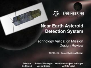 Near Earth Asteroid Detection System
