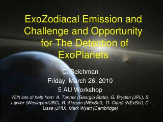 ExoZodiacal Emission and Challenge and Opportunity  for The Detection of ExoPlanets