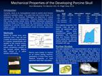 Mechanical Properties of the Developing Porcine Skull Arun ...