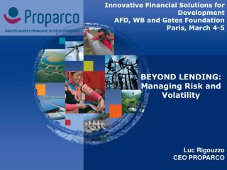 BEYOND LENDING: Managing Risk and Volatility